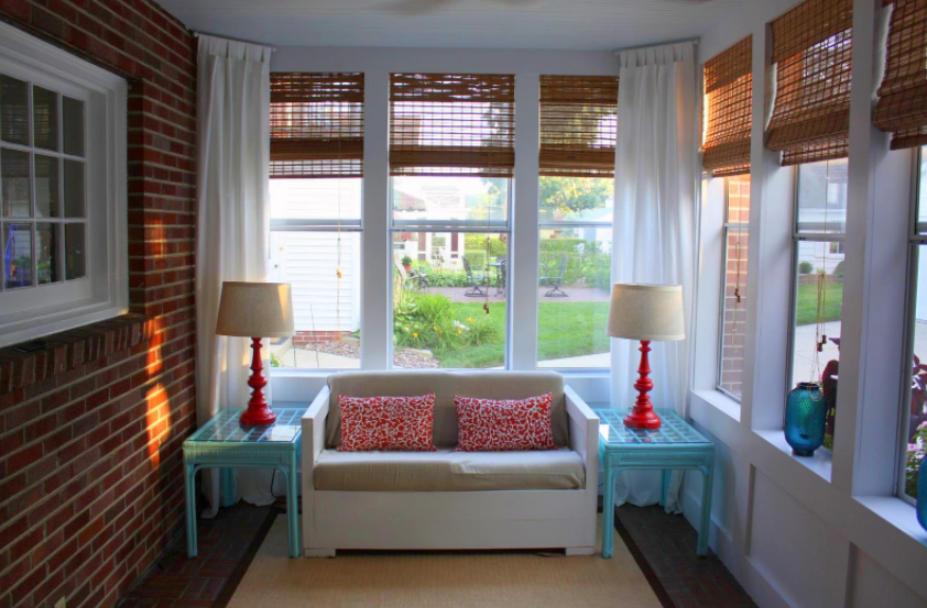 Consider Using Bamboo modern curtains
