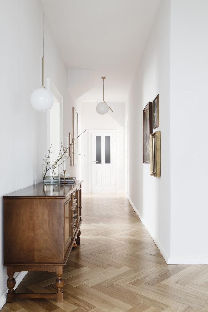 Credenza storage hallway styling