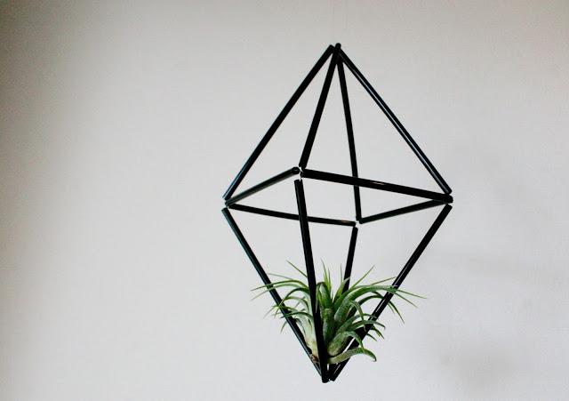 DIY geometric mobiles