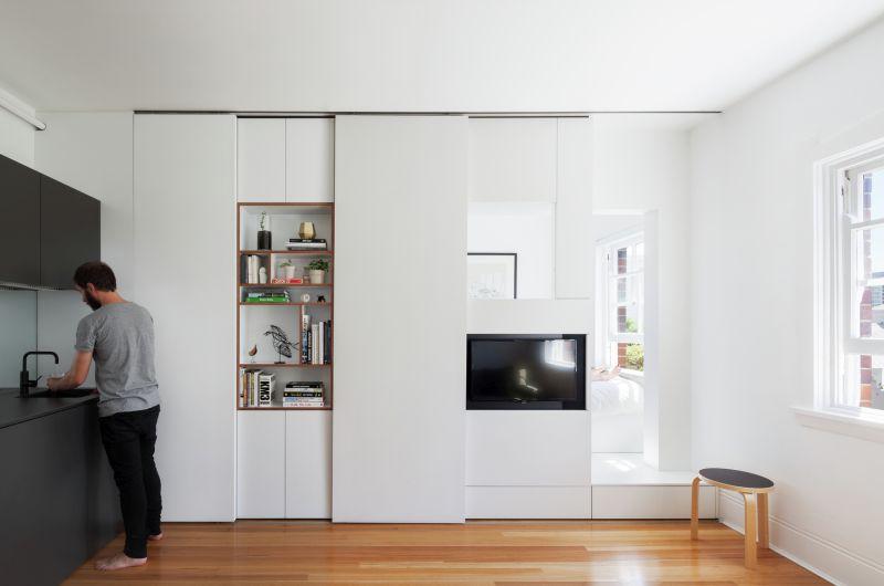 Darlinghurst Apartment by Brad Swartz Architect