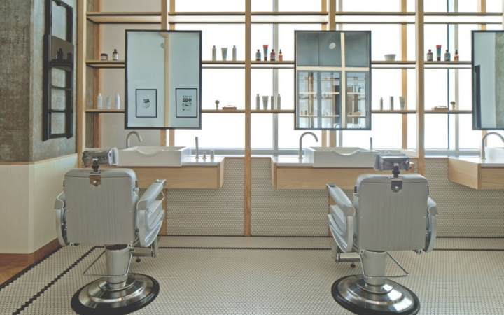Dubai Akin Barber Shop Design