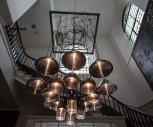 Modern chandeliers designed to impress and stand out designs and technologies changed and the latest chandeliers stand out in all sorts of interesting ways whether its thanks to an abstract design aloadofball Images