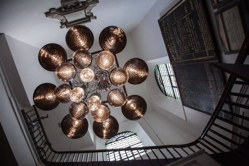 Flask chandelier from Tom Dixon design