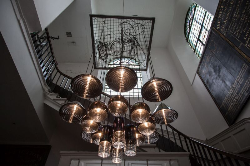 Flask chandelier from Tom Dixon