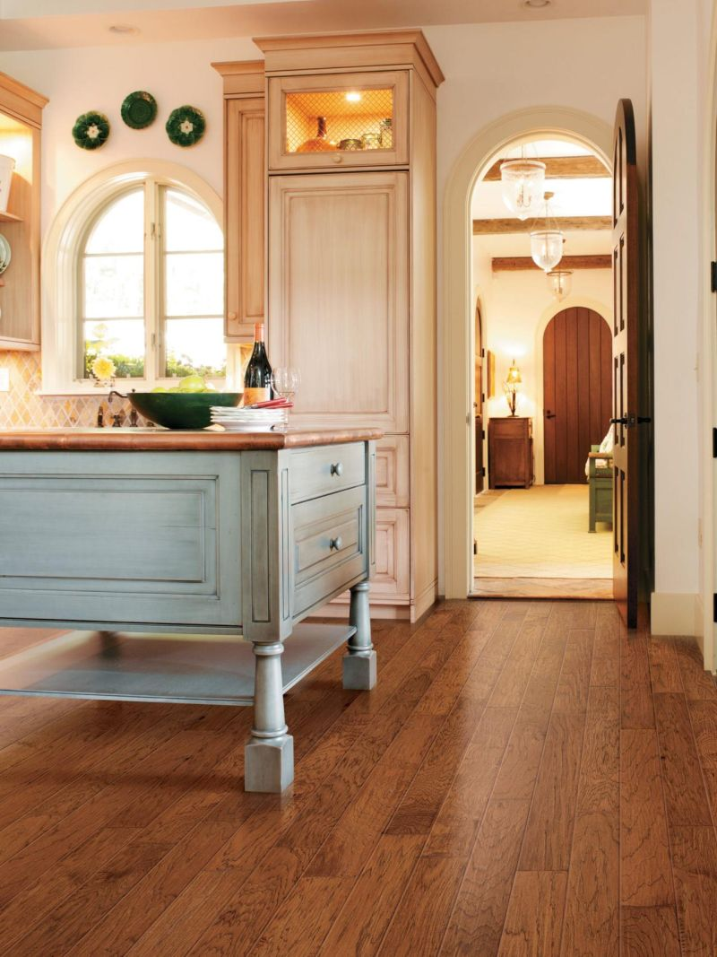 French vintage feel for kitchen floor
