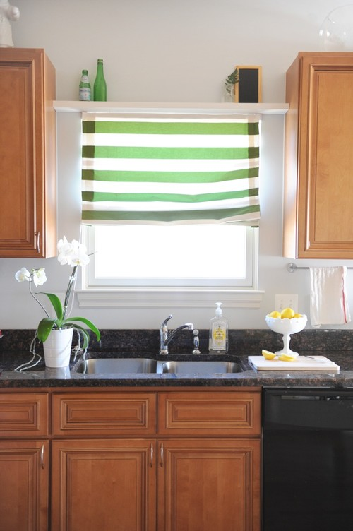 Green crips blinds