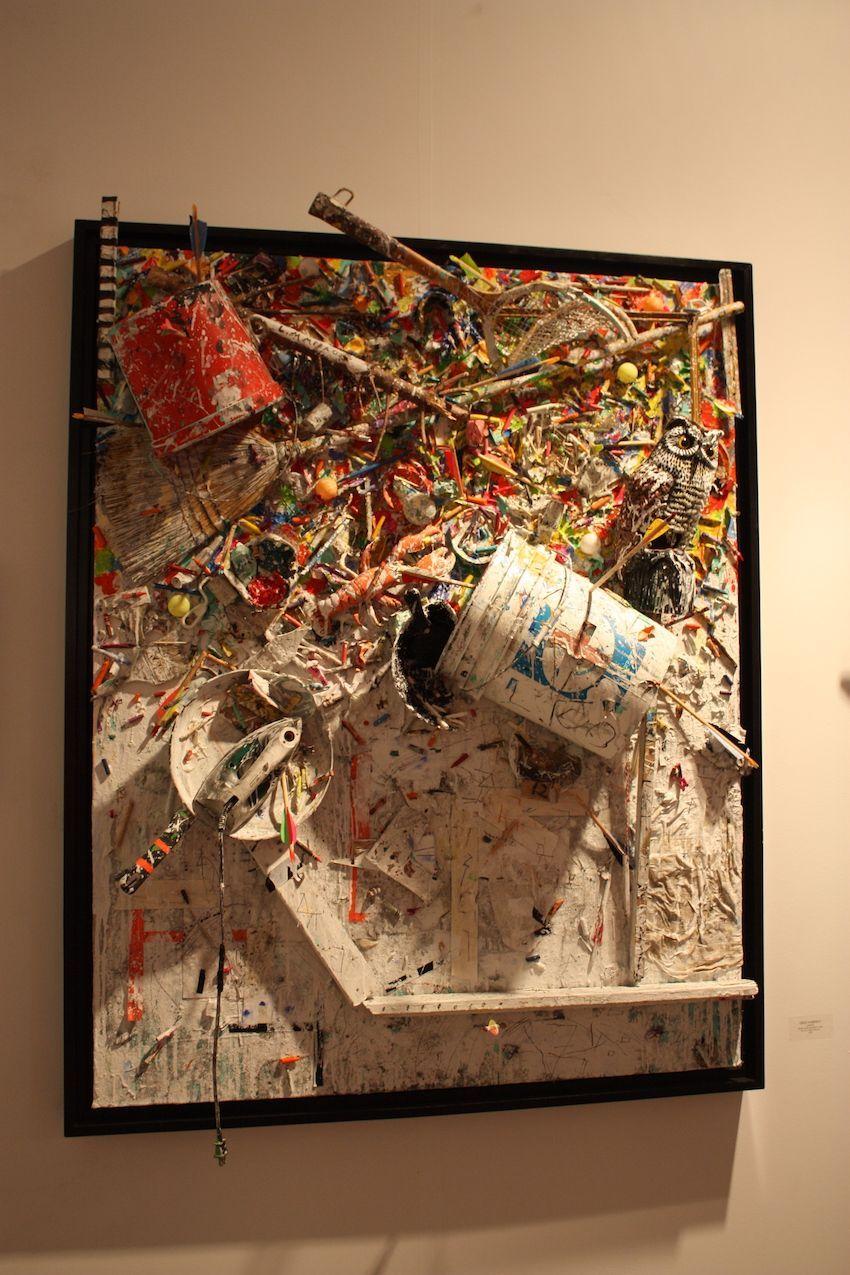 Greg Haberny bearbeitet 3D Wand