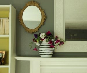 DIY Hand-Painted Flower Vase – a Fast and Easy Project