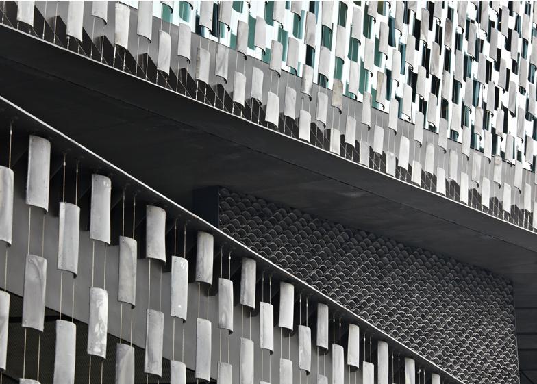 Hinjin zhi musem design facade