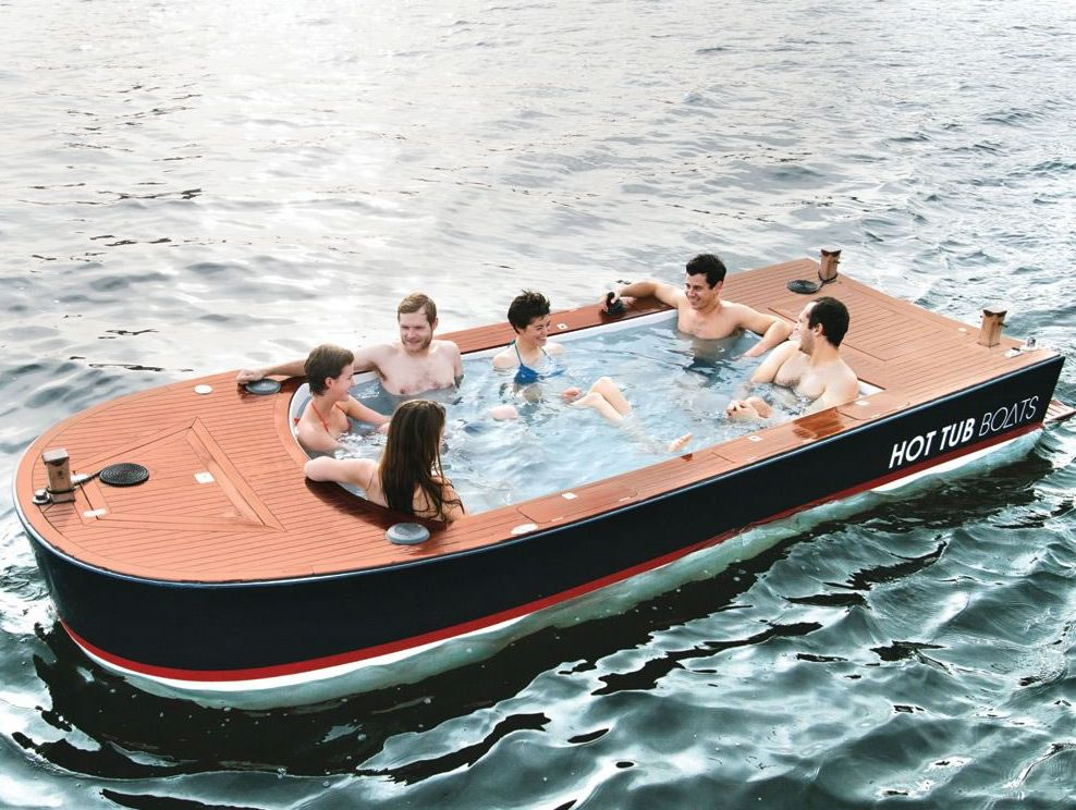 Hot Tub Boat Design