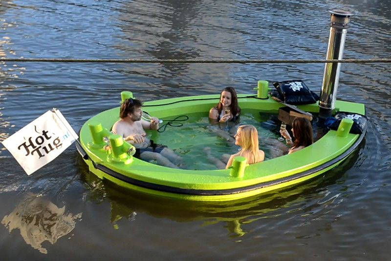 HotTug on water