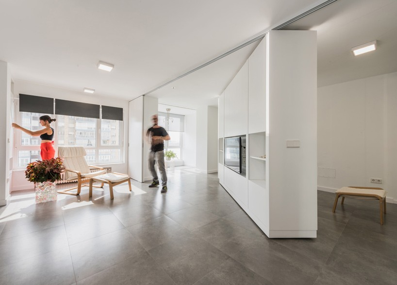 Apartments with movable walls inspire through flexibility - Tabiques moviles para viviendas ...