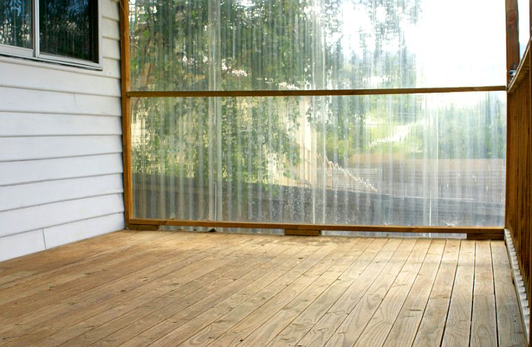 How To Strip and Stain Your Deck - Before