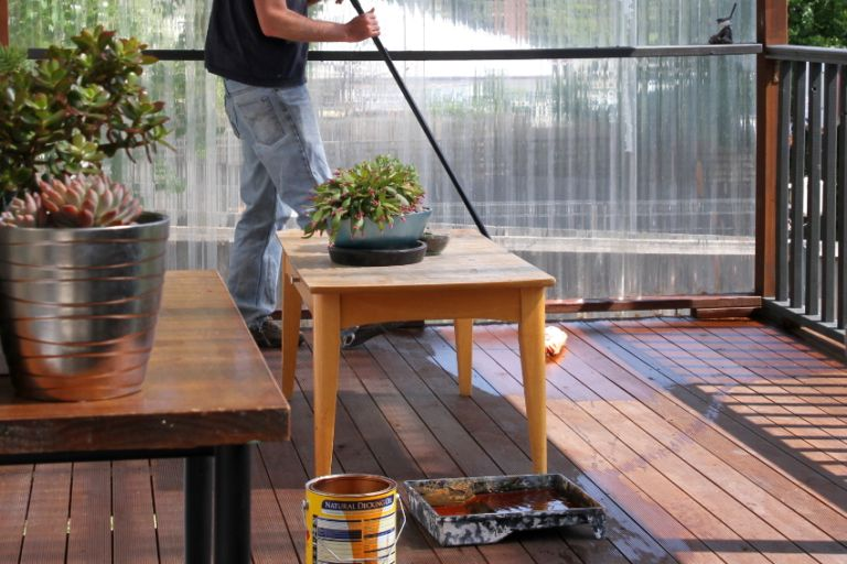 How To Strip and Stain Your Deck - Maintenance
