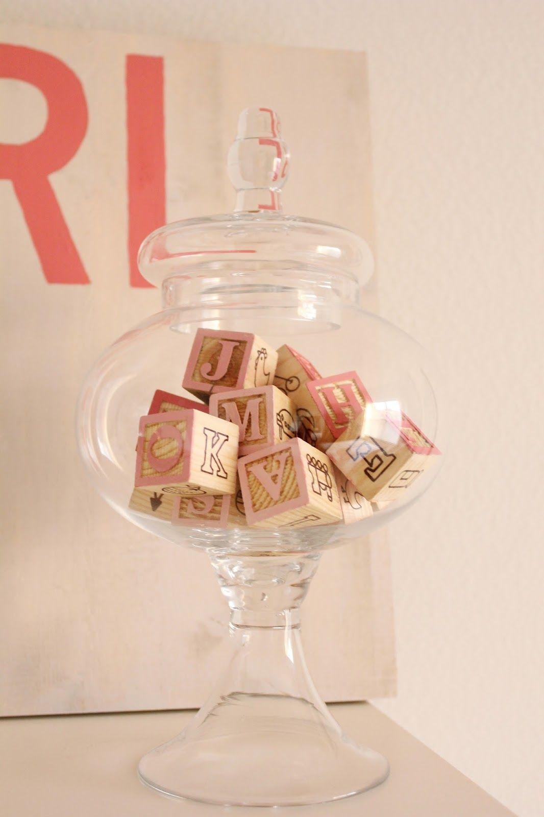 Jazz your nursery room with apothecary jar