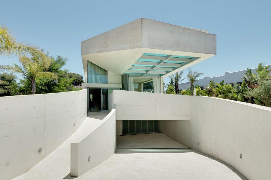 水母房屋屋顶游泳池