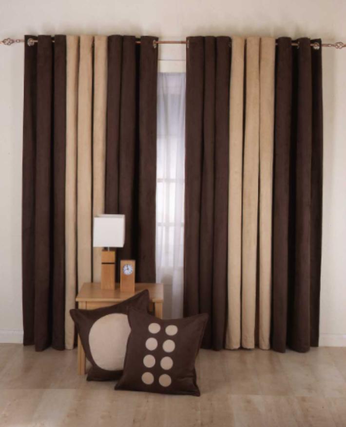 Mix Curtain Panels modern curtains