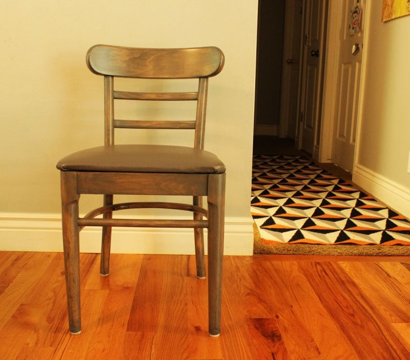 Modern painted dining chair