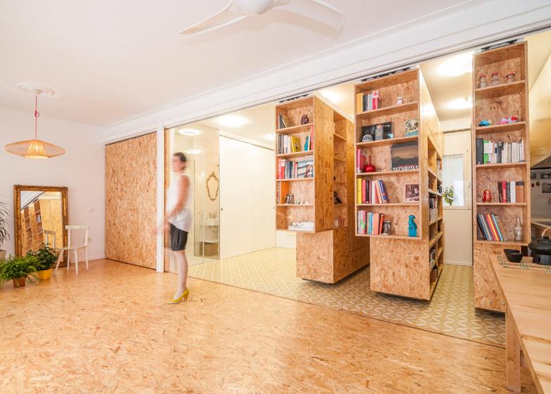 Modular Madrid Apartment Split