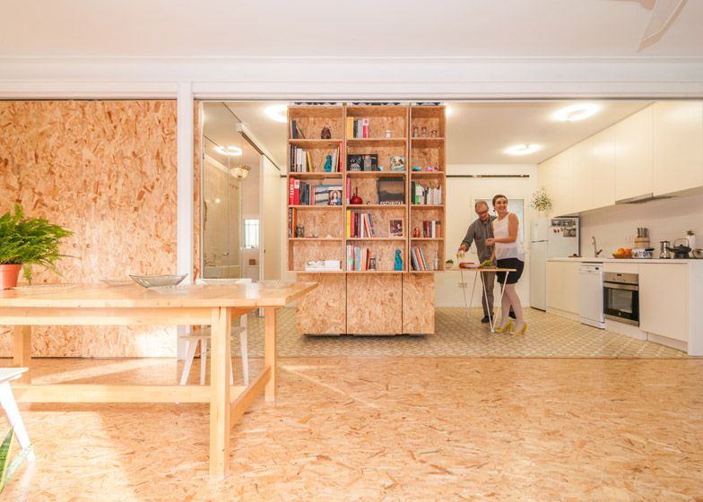 Modular Madrid Apartment kitchen