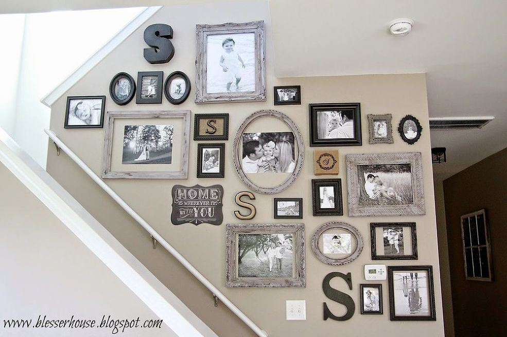 Awesome Monogram Gallery Wall