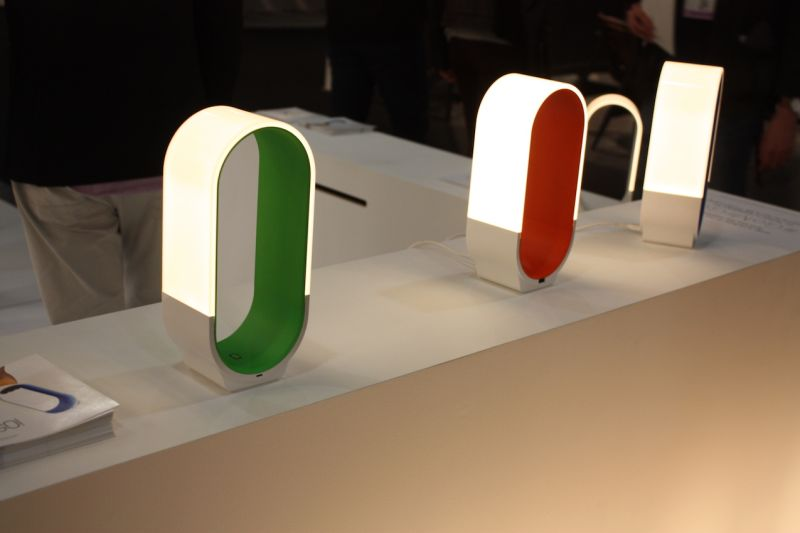 This year, KONCEPT launched Mr. GO! This colorful little fixture is a companion product line to the Mr. n table light. Mr. GO! has the same minimalist curved light panel design from Mr. n paired with two batteries that are USB chargeable. Portable and stylish!