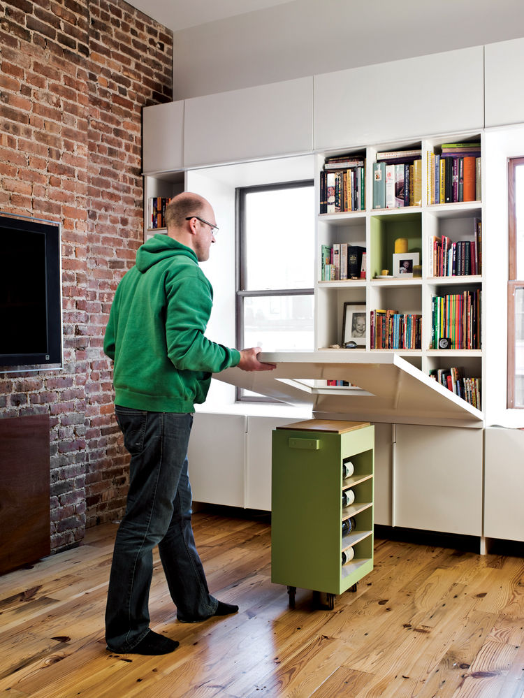 New york smart pull down table