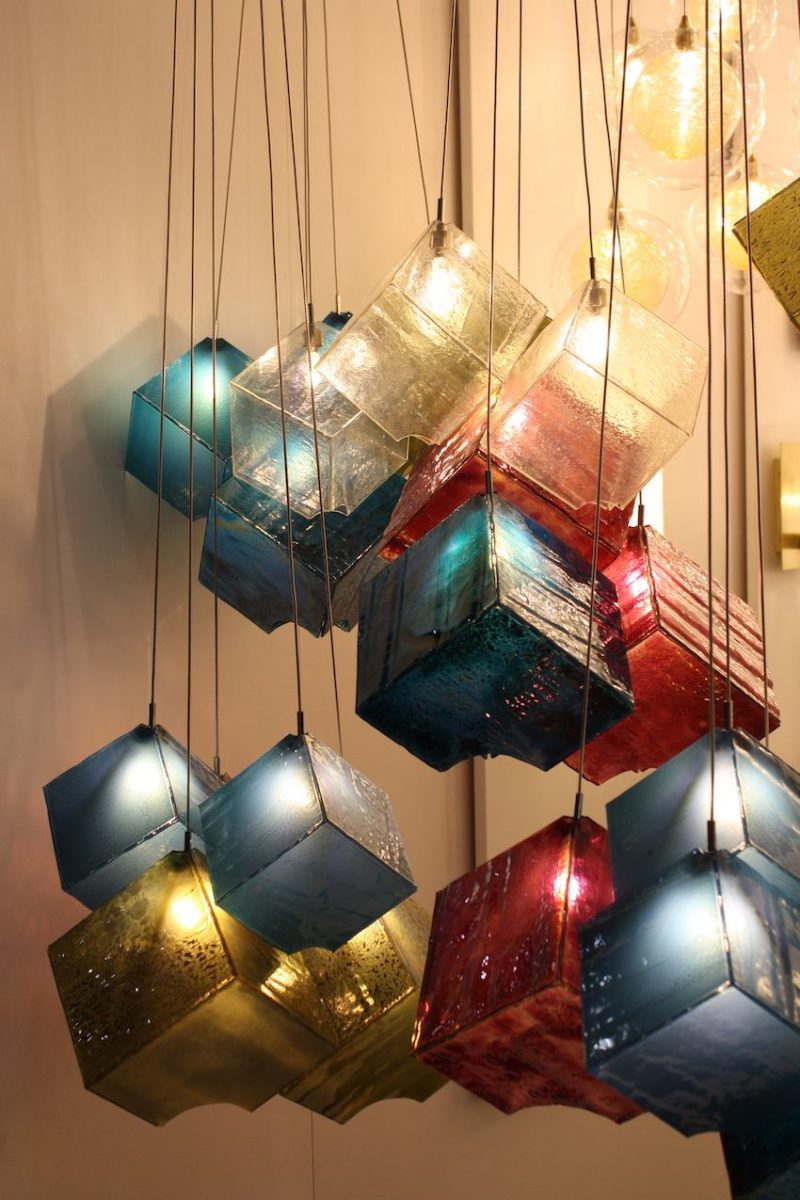 Modern Lighting Fixtures At ICFF Combine Latest Technology And Hand Crafting