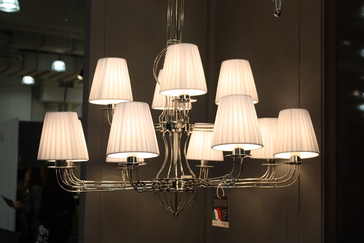 Modern Lighting Fixtures At ICFF Combine Latest Technology And ...