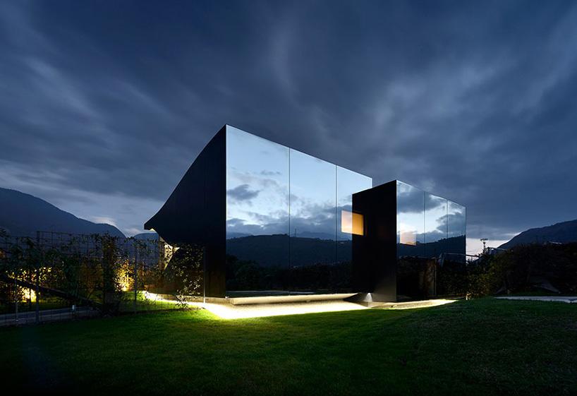 Peter Pichler镜子房子