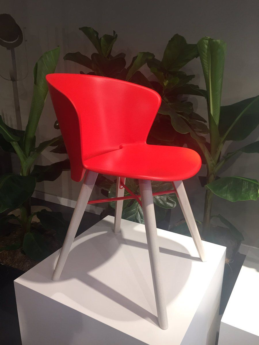 Red Bahia Chair From Calligaris
