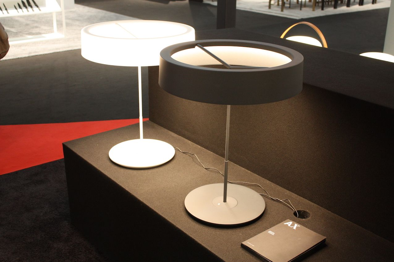 New designs make table lamps and floor lamps more desirable santa cole also presented this lamp designed by spains antoni arola named sin mozeypictures Choice Image