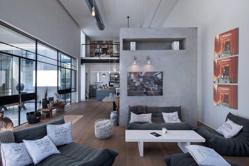 Savion Residence ground floor seating area