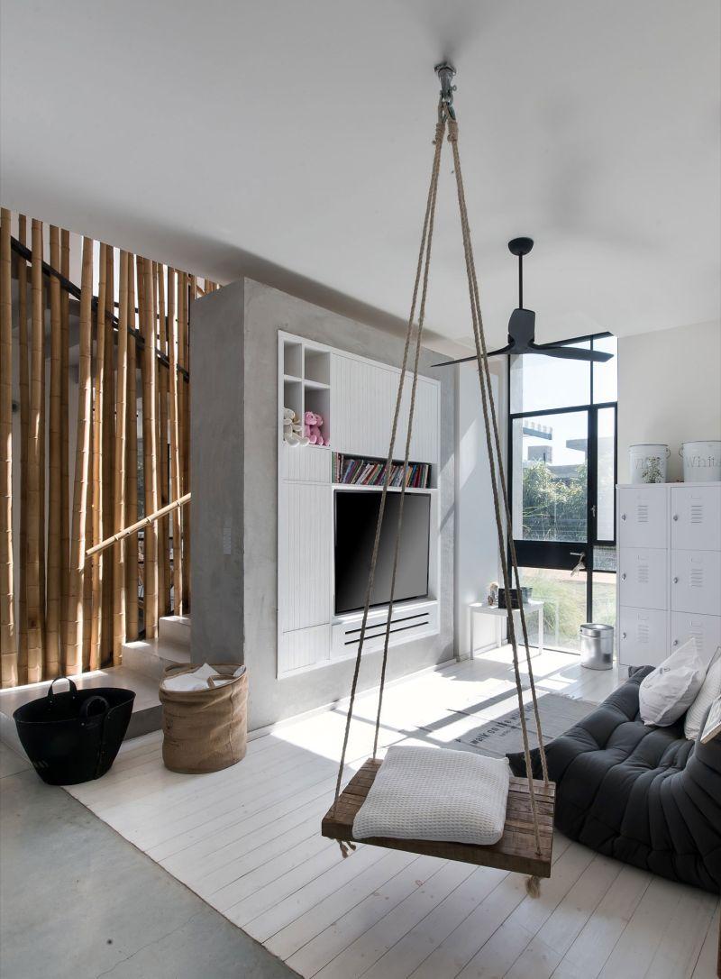Savion Residence indoor swing
