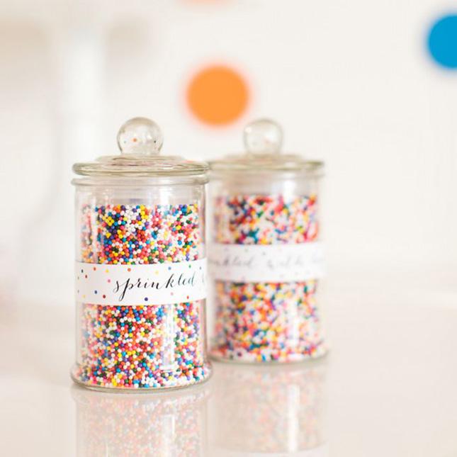 Sprinkles jars