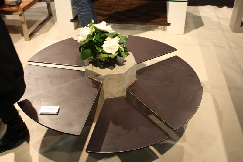 SteelFan coffee table