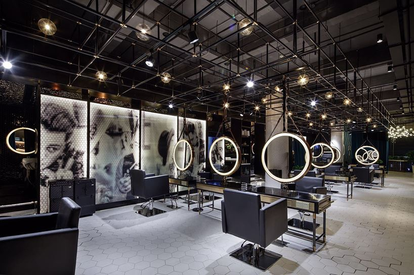 Stylish Barber Shop in China