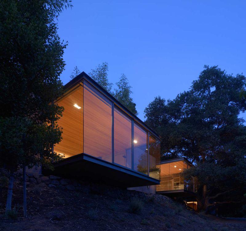 Swatt Miers Architects夜的茶馆设计