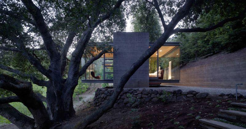 Swatt Miers建筑师的茶馆设计