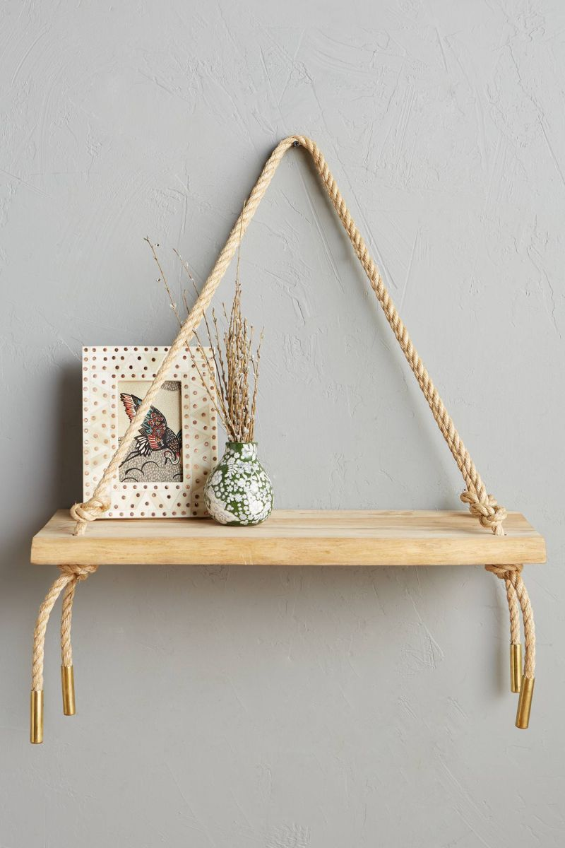 Teak Swing Shelf