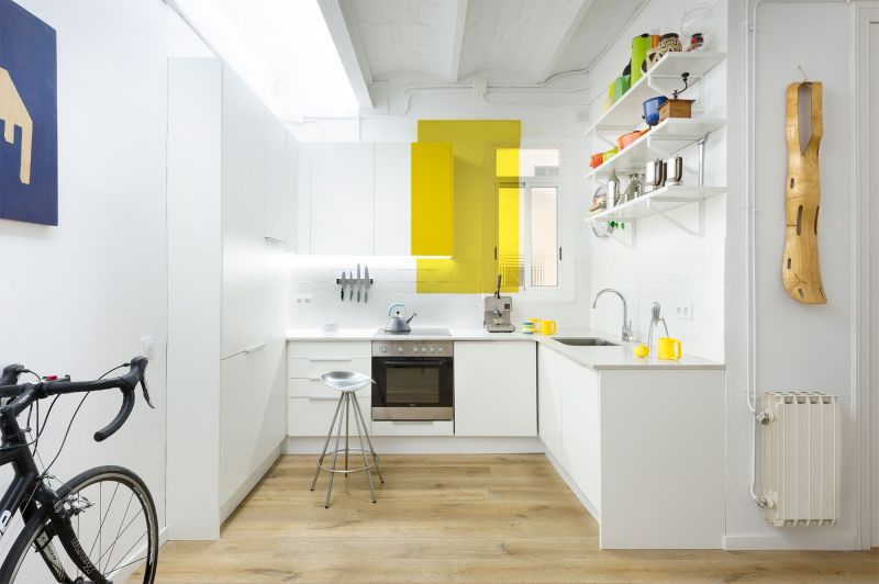 The Furnished Void kitchen