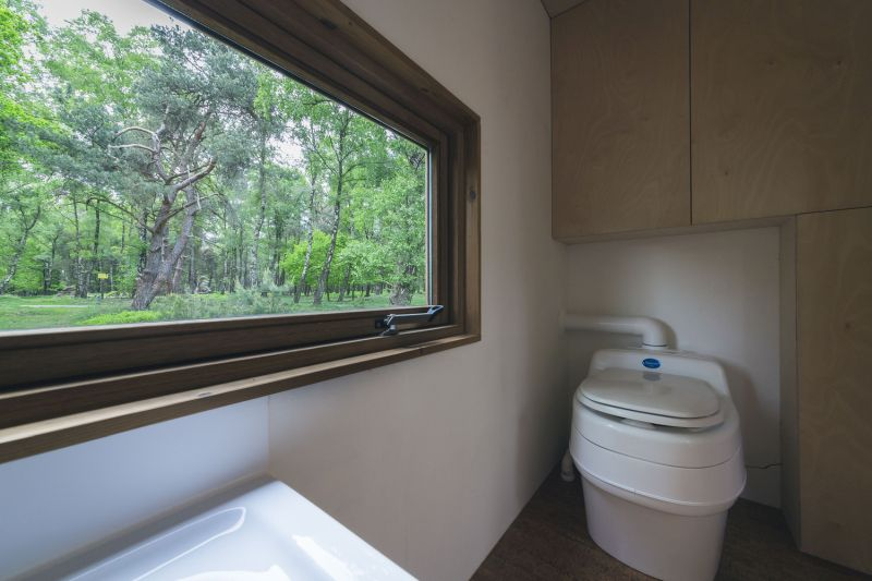 Tiny house in The Netherlands bathroom view