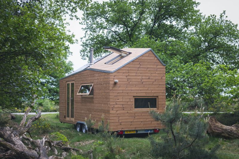 Tiny house in The Netherlands overall design