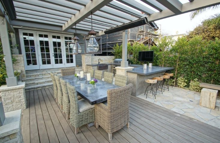The furniture you use on the deck has to be suitable for outdoor spaces