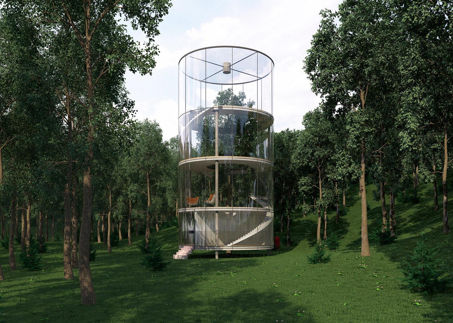 Tree house by almassov