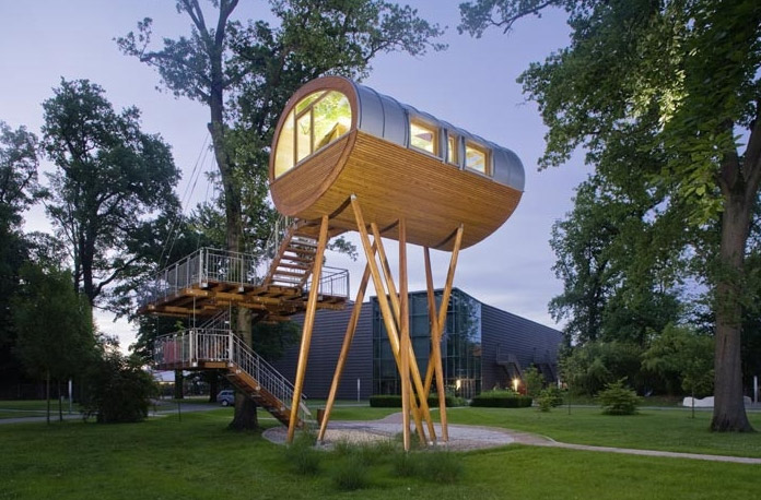 树房子居住德国