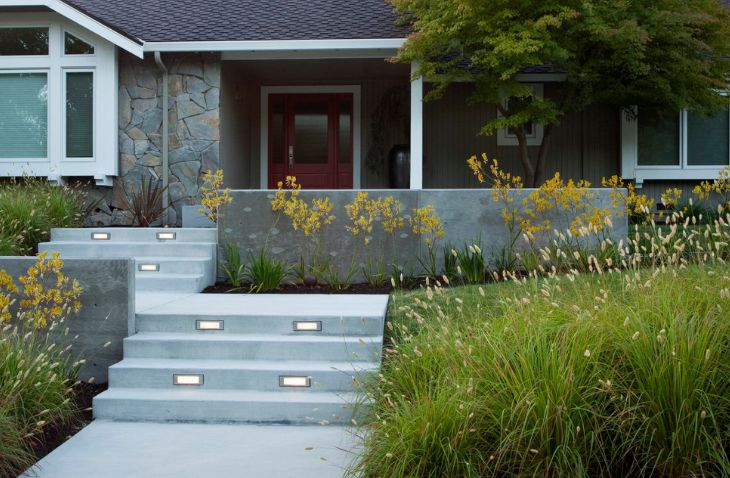 Ultra Modern Concrete Stairs