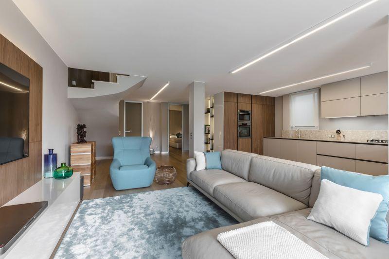 Villa in Bordighera living room seating
