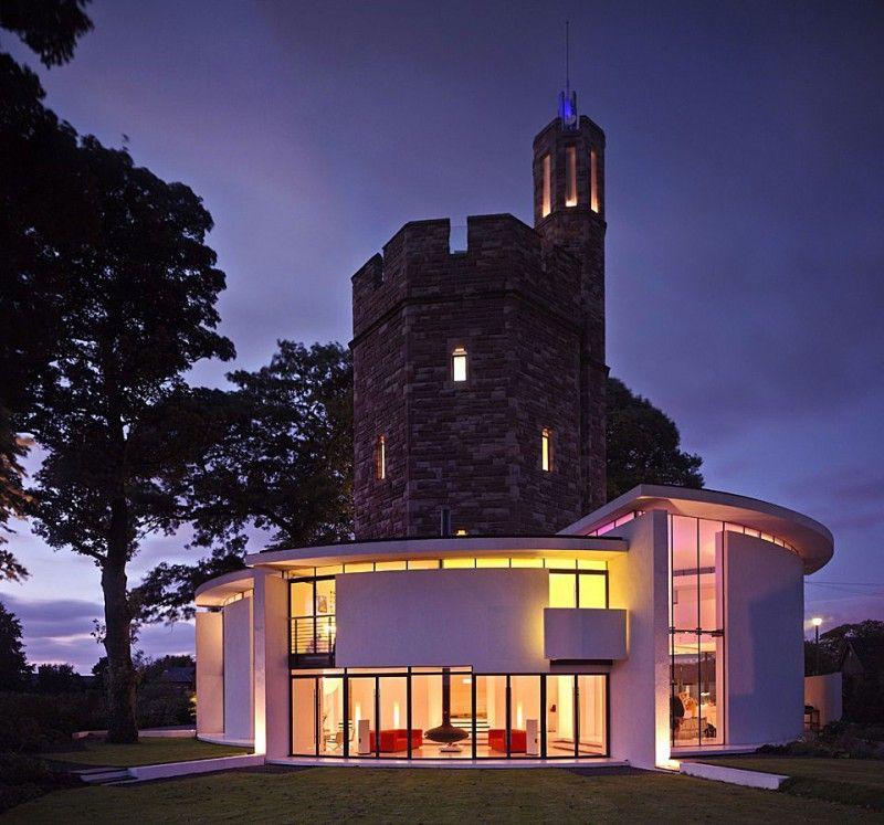 水塔变成了一所房子