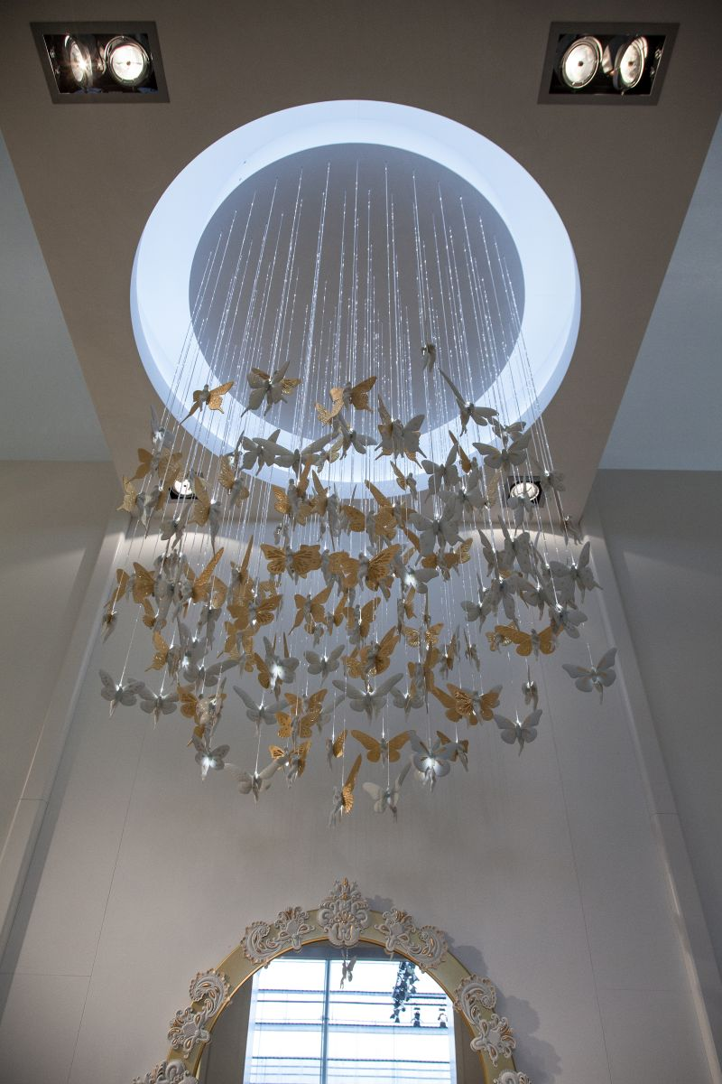 Whismical chandelier